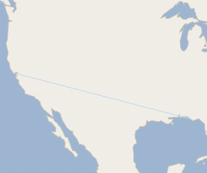 How Far Is Pittsburg California From Panama City Florida